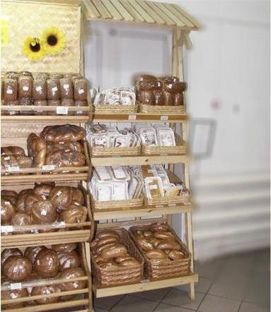 Стеллаж для хлеба и выпечки.