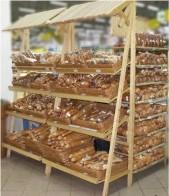 Хлебный стеллаж.
