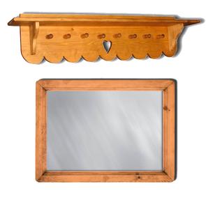 Вешалки и зеркала Прованс