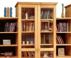 Шкафы книжные Прованс